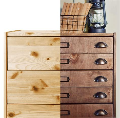 apothecary dresser apothecary cabinet from rast chest of drawers ikea hackers