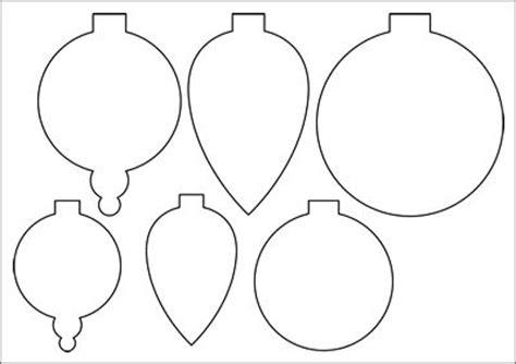 Bauble Templates For Paper Christmas Decorations Jul Pinterest Christmas Ornament Search Paper Ornaments Templates