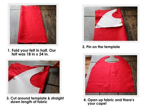 diy cape template capes goodness