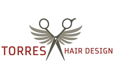 design logo hair salon torres hair design logo flywheel creative
