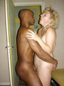 Interracial sex with white mature women