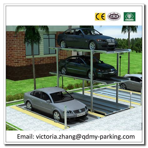 Stacking Cars In Garage by 2 3 Cars Basement Car Stack Parking System Car Stacker
