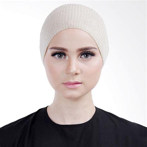 Pakaianonline Inner Bandana Rajut Premium jual cantik kerudung lizzie inner rajut bandana