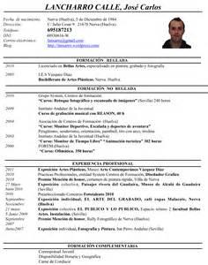 Plantillas De Curriculum Vitae Artistico Giz Images Curriculum Vitae Post 16