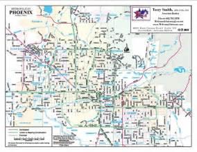 Maps Phoenix by Phoenix Arizona City Map Phoenix Arizona Mappery