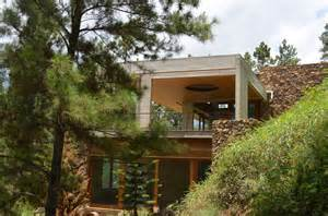 Houses Built On Slopes by Grass Roofed Home Built Into Slope Uses Hillside For