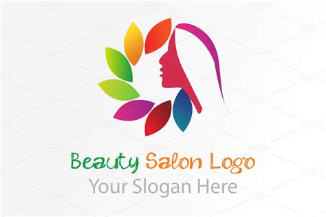Beauty Salon Logo Logo Templates On Creative Market Hair Salon Logos Templates