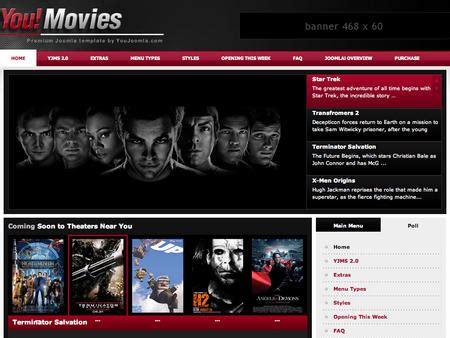 template joomla movie joomla template youmovies joomla movies portal