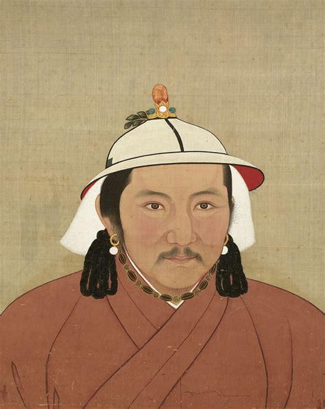 portraits  emperors taizu genghis khan shizu kublai