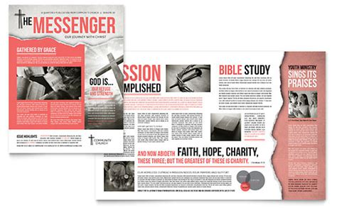 Newsletter Templates   InDesign, Illustrator, Publisher, Word
