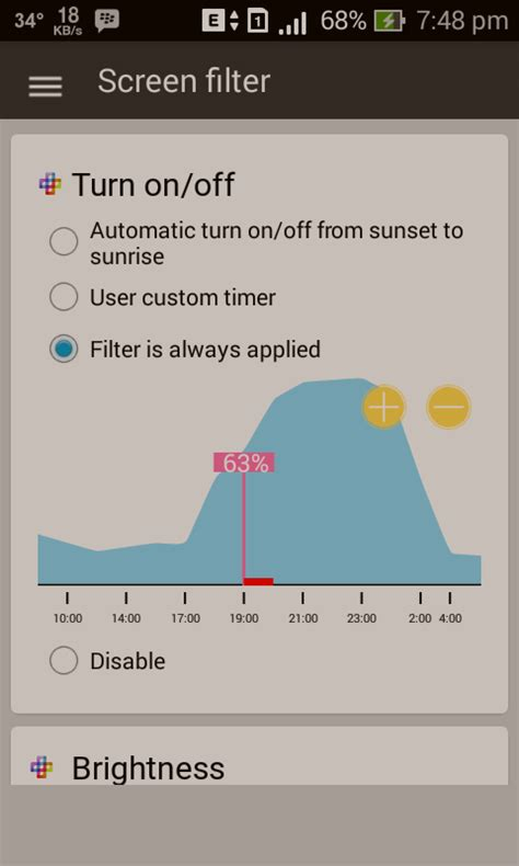 Aplikasi Kaku filter layarmu agar mata tidak sakit saat menggunakan