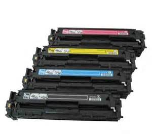 color toner printer hp color laserjet cp1515n toner cartridges black cyan
