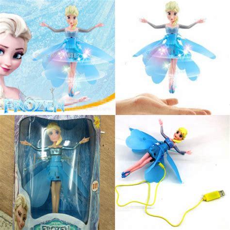 Flying Mainan Anak Terbang jual mainan anak boneka terbang flying toys elsa frozen