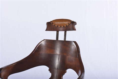 sedia da barbiere antica poltrona da barbiere antiquariato e dipinti antichi
