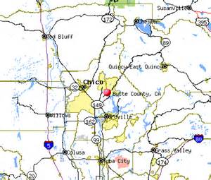 butte county ca maps