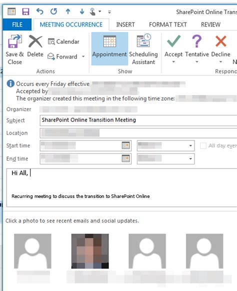 How Do You Calendars In Outlook How Do You Show A List Of Attendees In An Outlook 2013