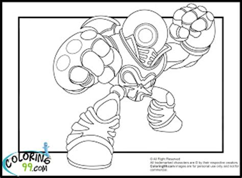 eye brawl coloring page skylanders giants coloring pages team colors