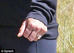 stacy keibler engagement ring stacy keibler debuts giant ring after secretly tying the