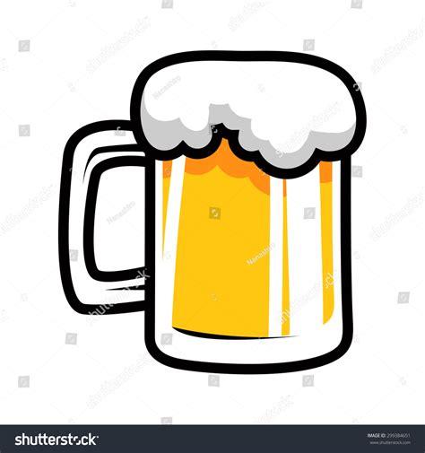 beer cartoon beer mug cartoon stock vector 299384651 shutterstock
