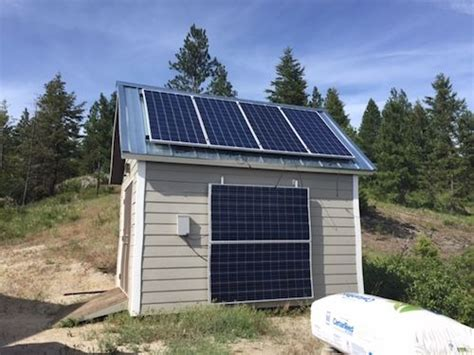 Solar Shed Power by The Grid Power Shed Solar Power And Storage