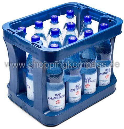 1 kasten wasser mineralwasser bad meinberger mineralwasser klassic