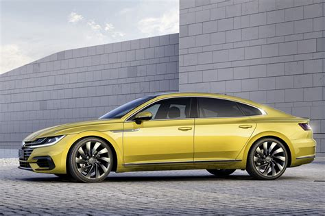 vw volkswagen 2017 vw arteon revealed in 2017 s passat cc by car magazine