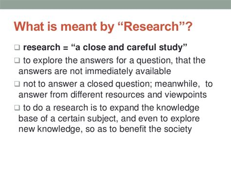 how to develop a research how to develop a research topic