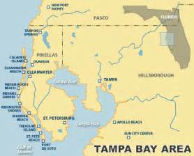 map of clearwater florida and surrounding areas ta bay area vacation rental map find rentals
