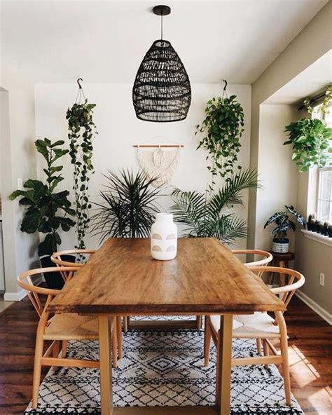 gorgeous modern bohemian dining room ideas dining