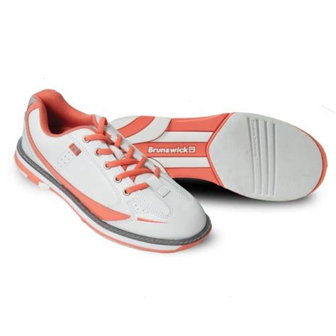 sporting goods bowling shoes brunswick s curve bowling shoes white coral 7 5