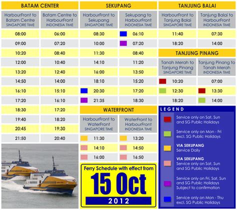 Etiket Batam To Singapore Sindo Ferry All In Tax 1way ferry schedule sindo ferry travel on our new fast ferries