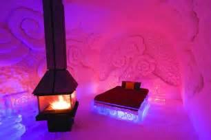 hotel de glace canada ice hotel quebec city wexas travel
