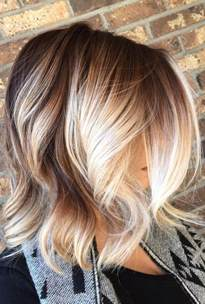 pics of platnium an brown hair styles blonde balayage hair colors with highlights balayage