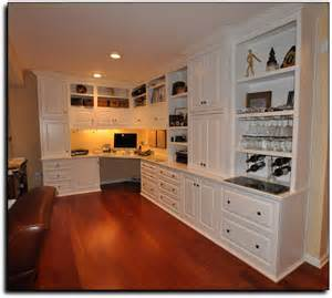 Home Cabinets Home Office Custom Built Home Office Cabinets In