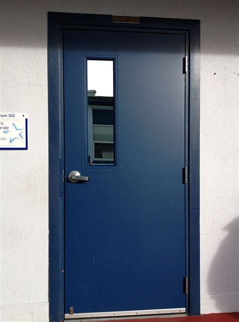 hollow metal doors with glass commercial garage doors