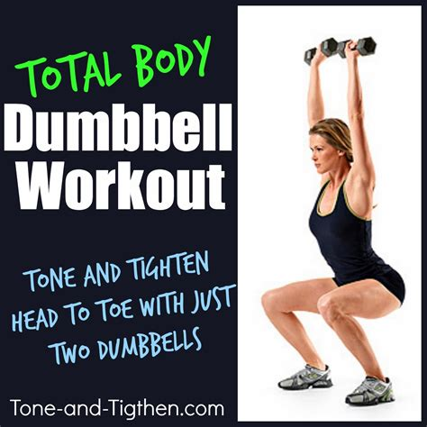 total dumbbell workout the most comprehensive
