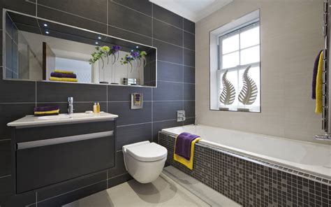 Grey Tile Bathroom Ideas 20 Refined Gray Bathroom Ideas Design And Remodel Pictures
