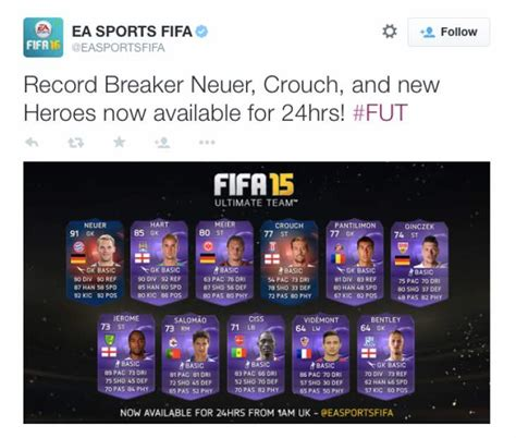 reset online record fifa 15 record breaker crouch fifa 15 review is no joke product