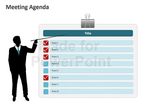 powerpoint agenda template pictures to pin on