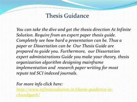 dissertation guide thesis guide in chandigarh thesis guide in mohali