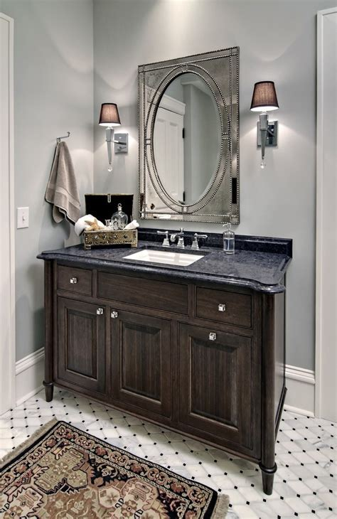 dishy distressed bathroom cabinets with freestanding