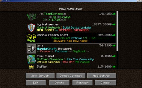 mc best servers technical issues minecraft servers won t connect at all