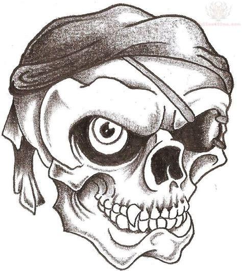 skull pirate tattoo design skulls drawings pesquisa quadros