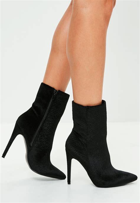 ankle boots with heels black high heel shoe boots heels zone