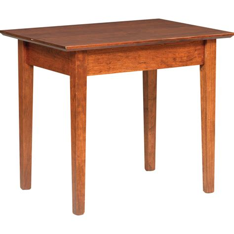 large end table shaker large end table amish crafted furniture