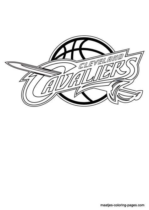 cavs coloring pages cleveland cavaliers free coloring pages