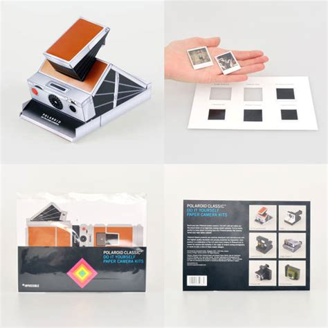 Diy Polaroid Pop Up Card Template by Polaroid And The Impossible Project Team Up Release Paper