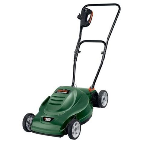 black decker 18 in mulching electric mower mm275 the
