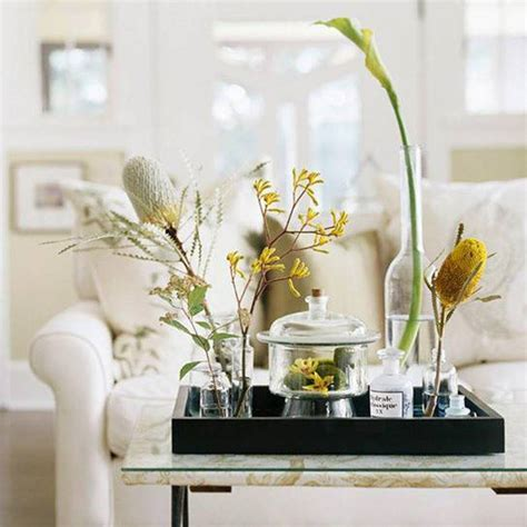 how to decorate home with flowers coffee tables ideas best decorative trays for coffee