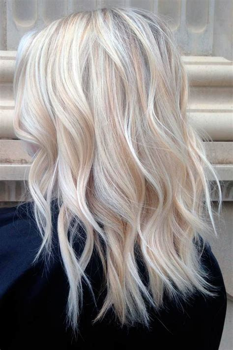 blonde hairstyles colors highlights 40 platinum blonde hair shades and highlights for 2018
